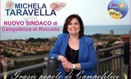 Il nuovo sindaco di Campofelice di Roccella è Michela Taravella, la dedica della vittoria al nipote Cristian