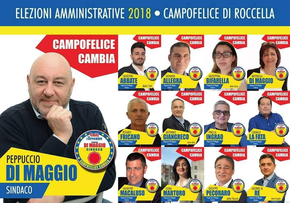 Intervista al candidato a sindaco di Campofelice di Roccella Giuseppe Di Maggio