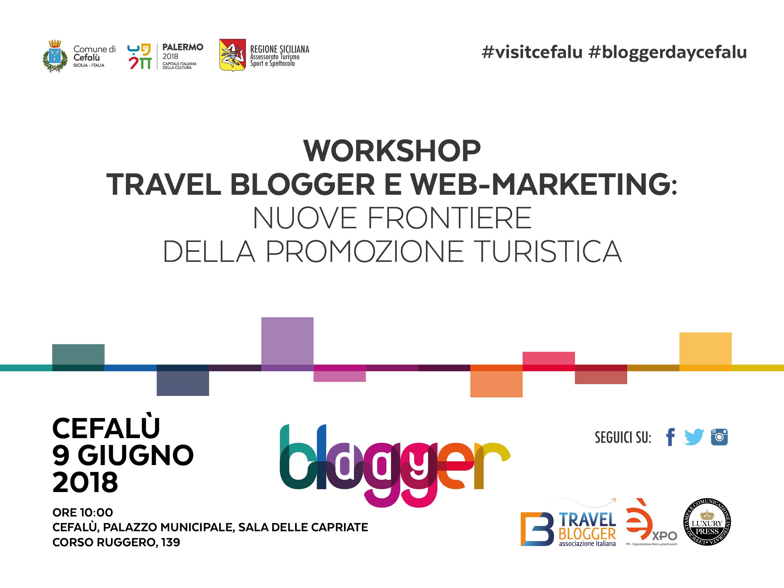 Cefalù ospiterà il Blogger Day: come promuovere efficacemente il territorio