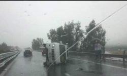 Grave incidente sulla A19 Palermo-Catania, ricoverato d'urgenza 35enne