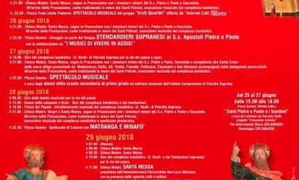 Petralia Soprana, al via i festeggiamenti in onore degli Apostoli Pietro e Paolo