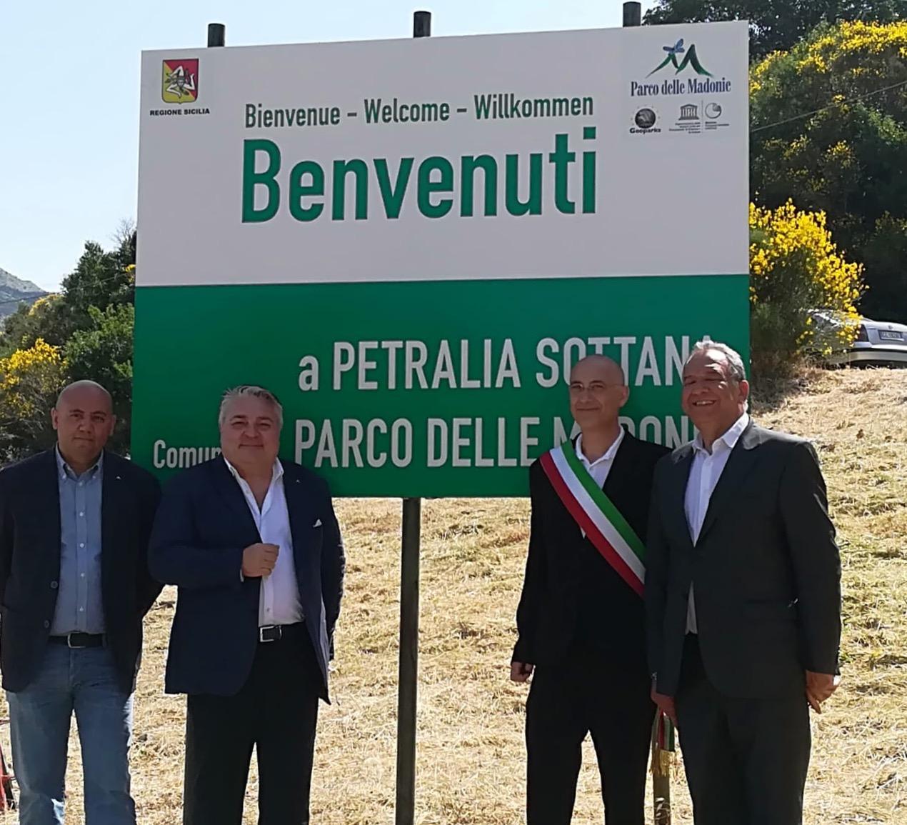 Nuova cartellonistica nel Parco delle Madonie con simboli Unesco
