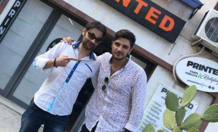 Termini Imerese: selfie con l'ex concorrente del Grande Fratello 2018 Luigi Favoloso