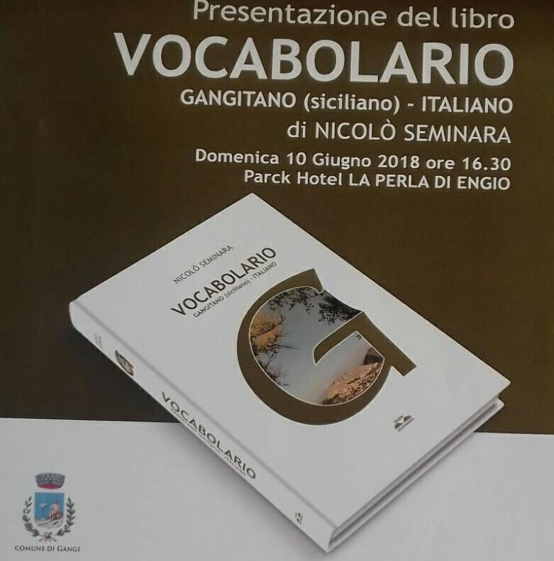 Gangi, il prof.Seminara presenta il Vocabolario Gangitano-Italiano
