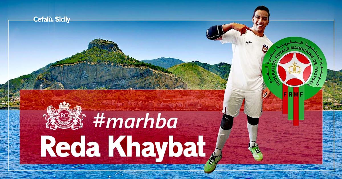 Colpo Real Cefalù Uniolympo! Arriva il promettente nazionale marocchino Reda Khaybat!