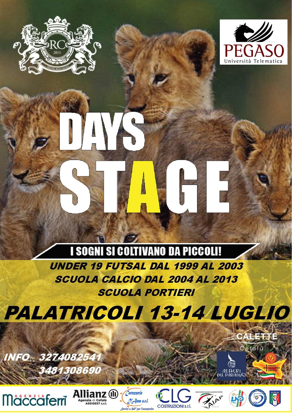 Real Cefalù, al via uno stage per i giovani!