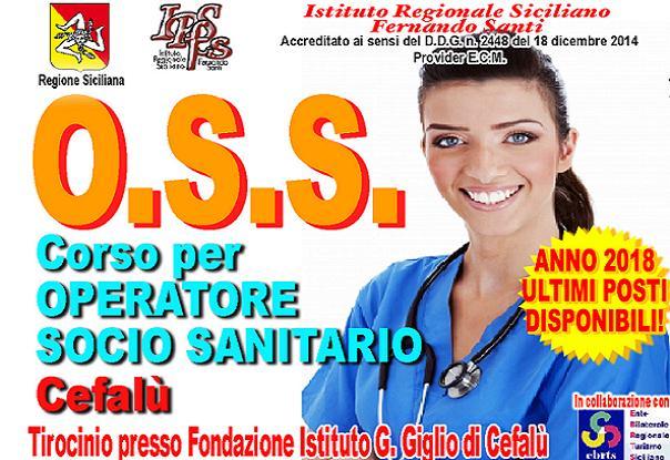 Corso OSS a Cefalù