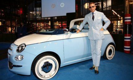 Fiat 500 spiaggina: ecco l'ultima tendenza vintage firmata Lapo Elkann