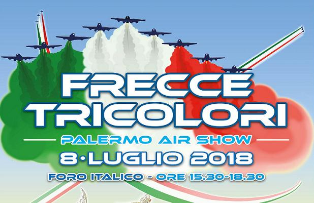 Le Frecce tricolori a Palermo
