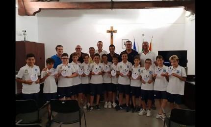 Sporting Cefalù, i Pulcini premiati in Comune