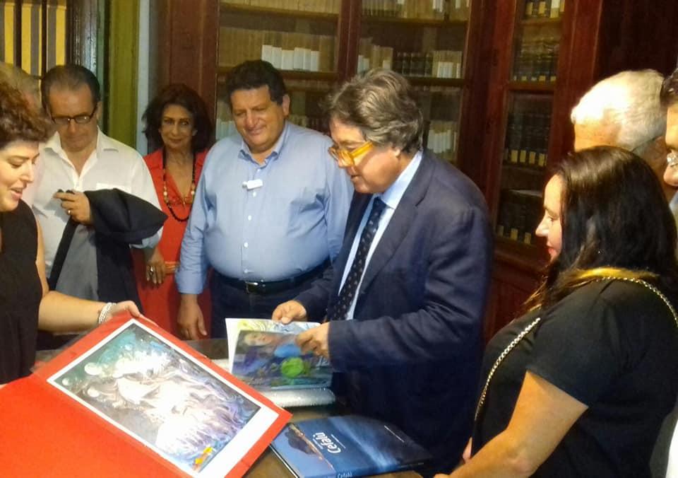 Cefalù, in visita al Mandralisca l'Assessore regionale ai Beni culturali Sebastiano Tusa