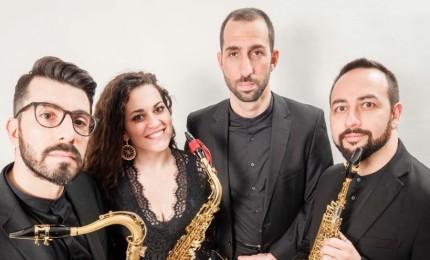 Isnello, Triskeles Saxophone Quartet in concerto