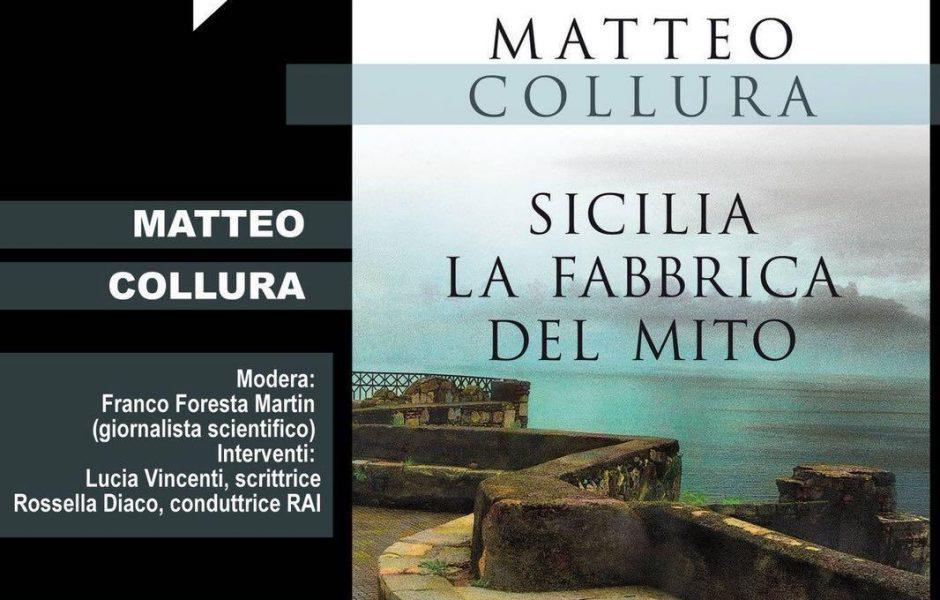 """""""La fabbrica del mito"""" al via la presentazione del """"libro fest"""" con Matteo Collura"""