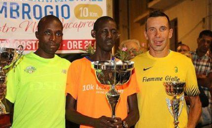 Sfide internazionali al Giro podisitco di Sant'Ambrogio