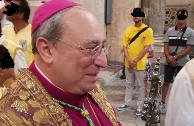 """Il vescovo di Cefalù torna a far visita ai malati del """"Giglio"""""""