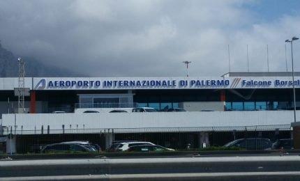 Aeroporto di Palermo: ad agosto migliora il traffico passeggeri