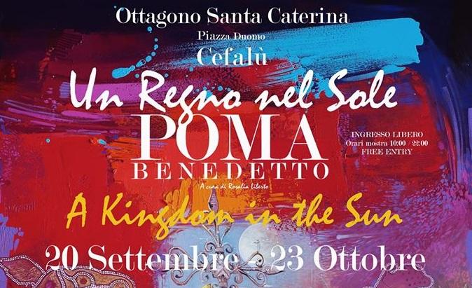 Il 20 settembre a Cefalù una nuova mostra di Benedetto Poma