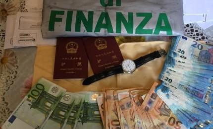 Migliaia di scarpe contraffatte, sequestro di beni per una coppia cinese