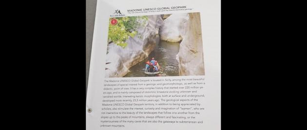 Conferenza Internazionale dei Geoparchi Mondiali UNESCO, ci sono anche le Gole di Tiberio