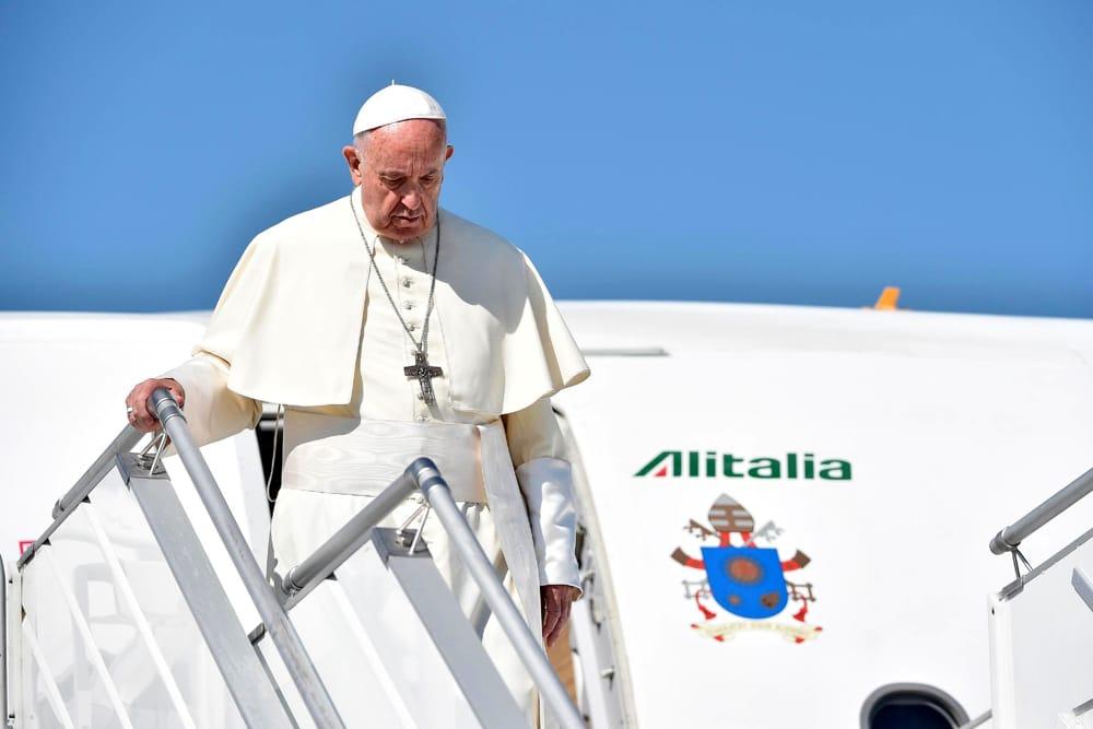 Papa Francesco sta arrivando a Palermo: tutto quello che c'è da sapere