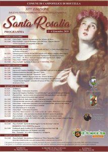 programma santa rosalia