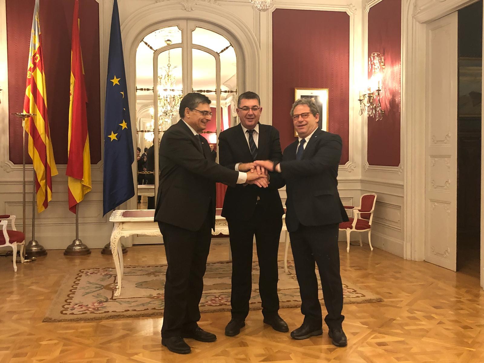 """600esimo anniversario della fondazione della Generalitat Valenciana, Miccichè: """"Numerose le affinità che ci uniscono"""""""