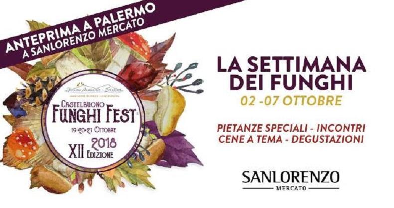 A Palermo l'anteprima del Funghi Fest di Castelbuono