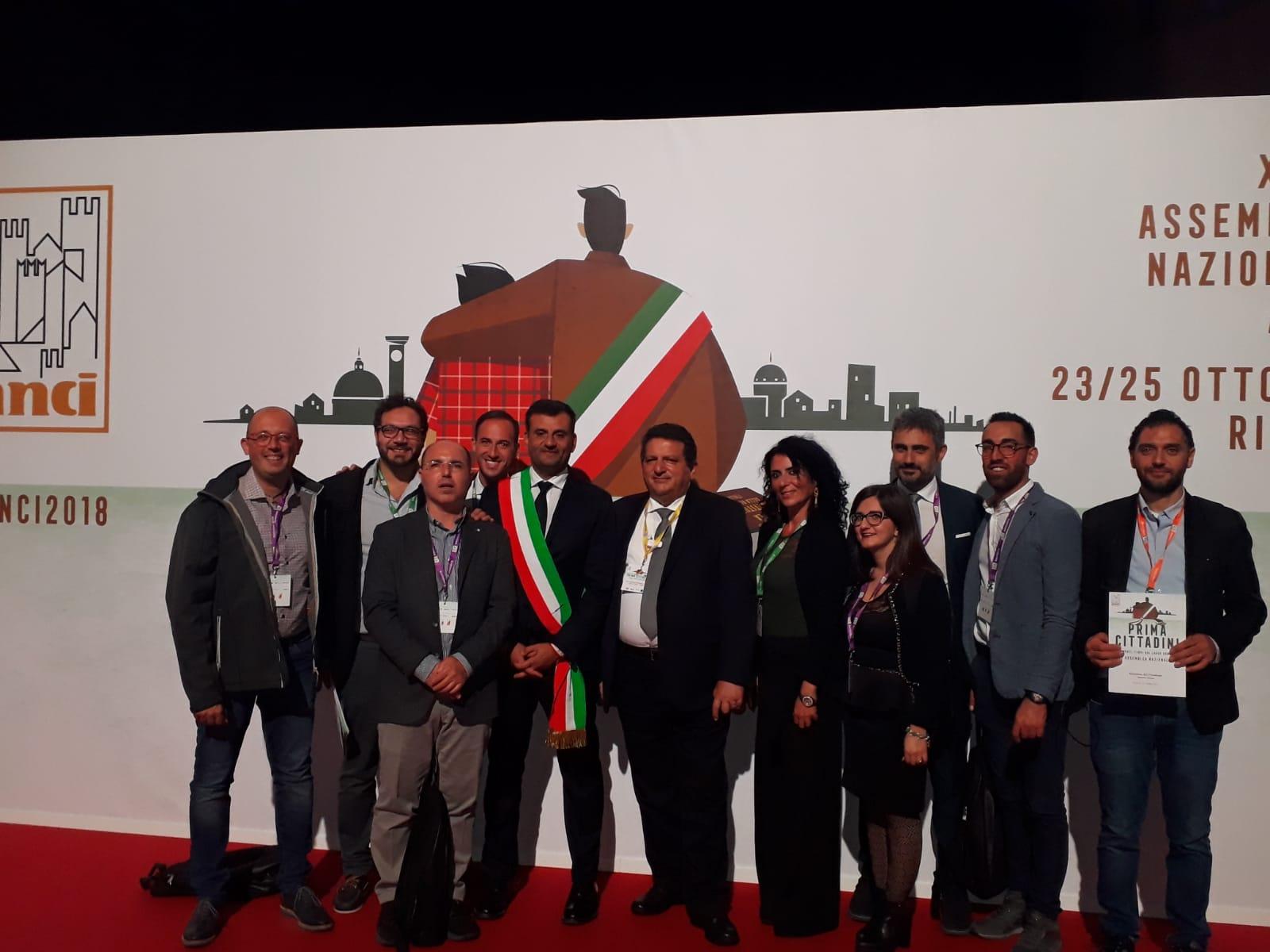 Assemblea annuale Anci, presenti gli amministratori madoniti