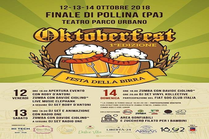 A Finale di Pollina è tempo di Oktoberfest