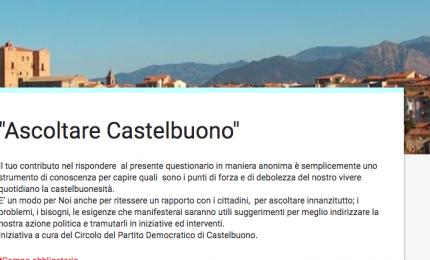 """Castelbuono, circolo locale PD lancia un questionario online per """"ascoltare"""" il paese"""