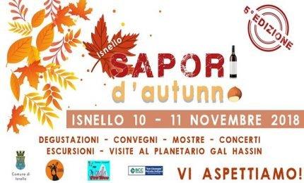 A Isnello è tempo di Sapori d'autunno (programma)