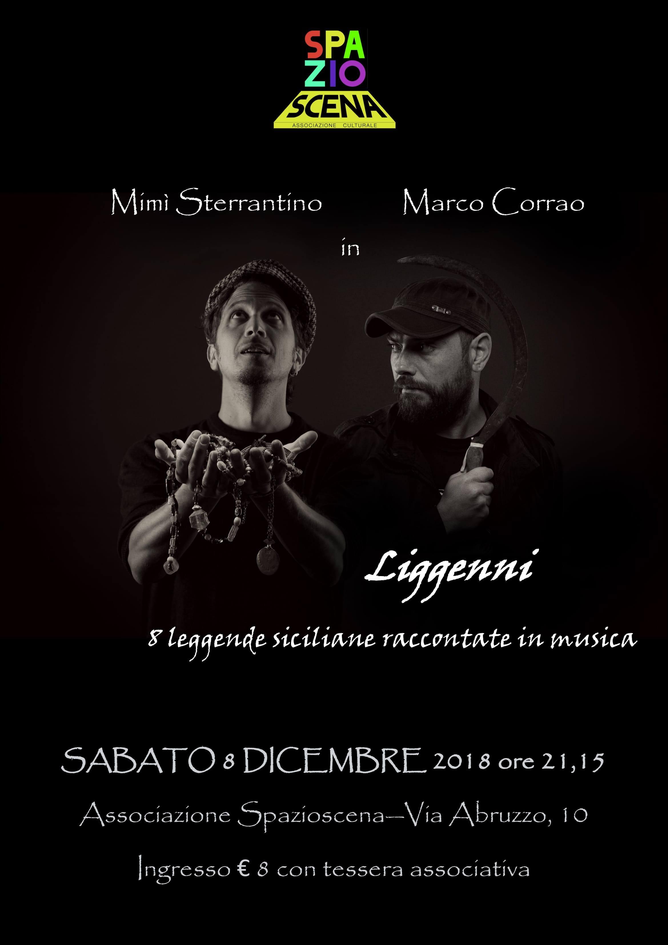 Il blues siciliano di Mimì Sterrantino in concerto all'Associazione Spazioscena di Castelbuono