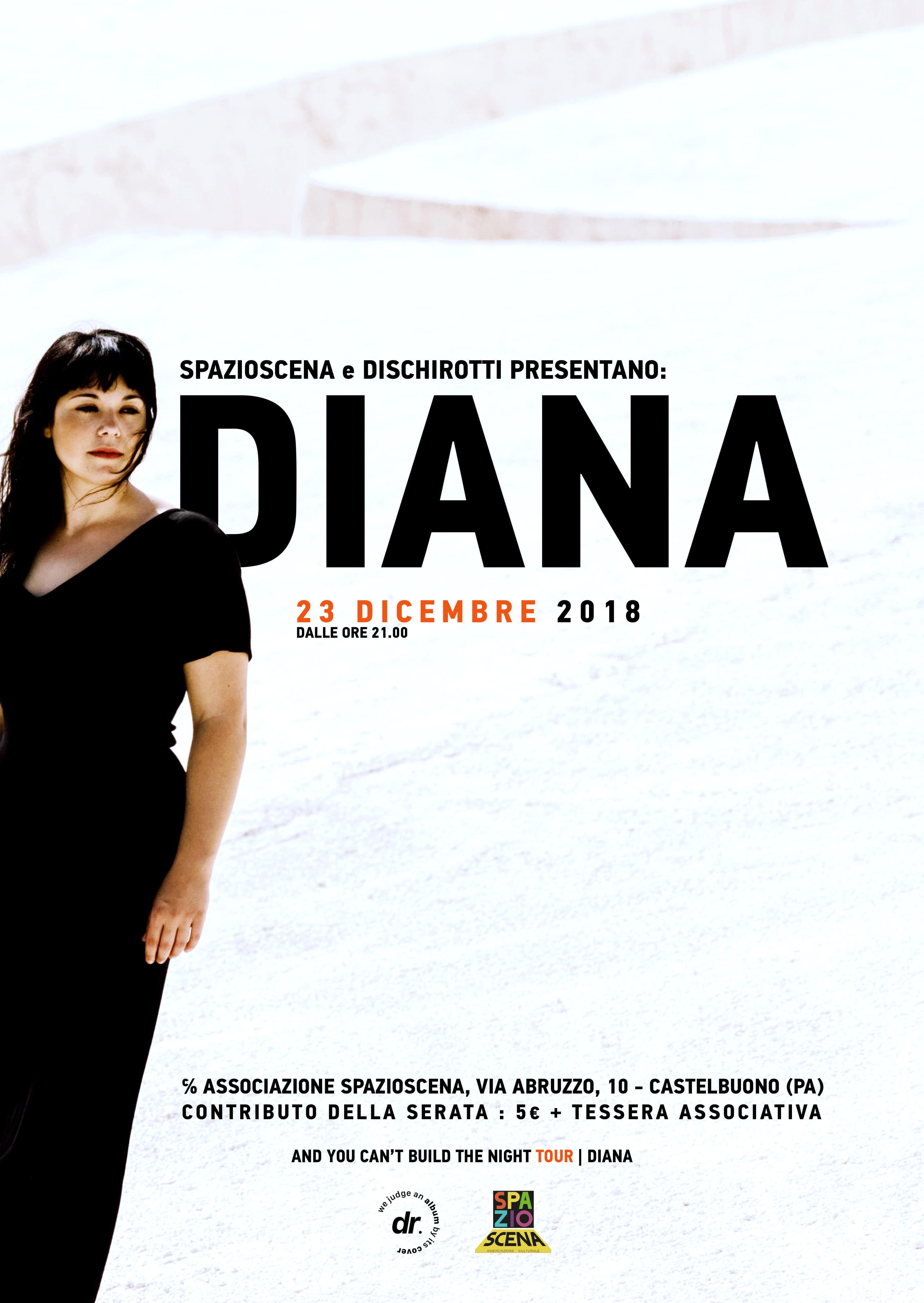 Castelbuono: DIANA in concerto a Spazioscena