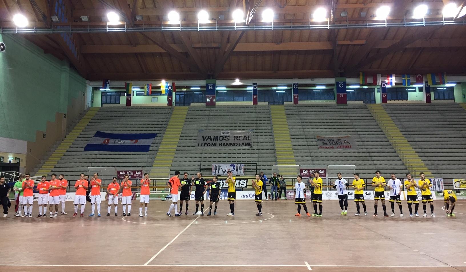 Contro il Lido di Ostia s'interrompe l'imbattibilità in campionato del Real Cefalù Uniolympo
