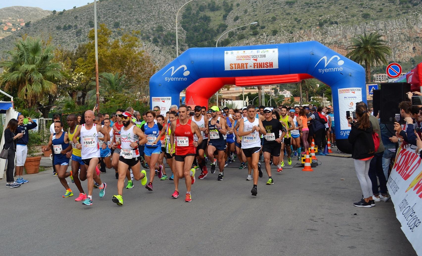 A Cefalù la premiazione del campionato Running Sicily
