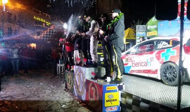 Tris per Luca Ferri su Ford Fiesta WRC al Rally Ronde di Sperlonga