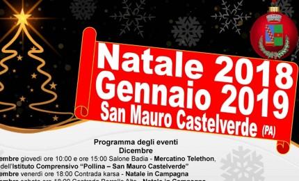 Natale a San Mauro Castelverde, tutti gli eventi