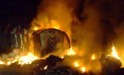 Non si placa l'emergenza rifiuti a Palermo, ancora fiamme nella notte