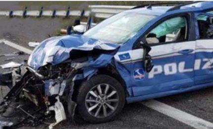 Incidente sulla A19: camion finisce su volante Polstrada Buonfornello