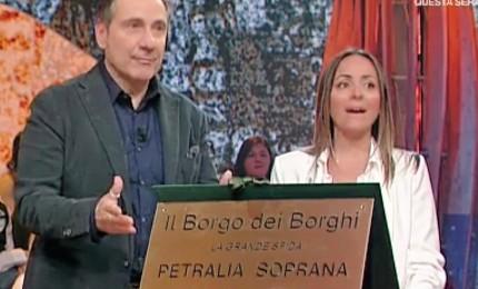 Petralia Borgo dei borghi: consegnata la targa alla città (FOTO)