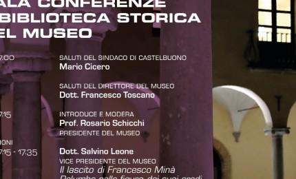 Castelbuono, sabato intitolazione sala conferenza e biblioteca del Museo Palumbo