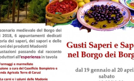 Il sapere del gusto, incontri e degustazioni nel Borgo dei Borghi