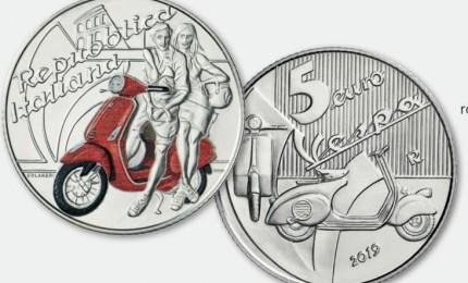 Vespa diventa una moneta (FOTO)