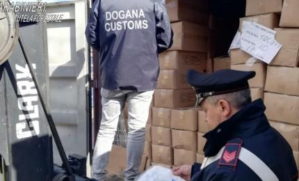Shoppers irregolari dal Vietnam, Carabinieri ne sequestrano 14 tonnellate