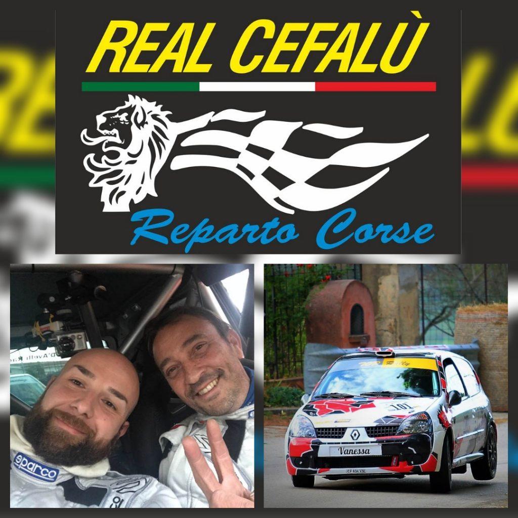 L'equipaggio Pizzo – Ciolino e Real Cefalù Reparto Corse di nuovo insieme