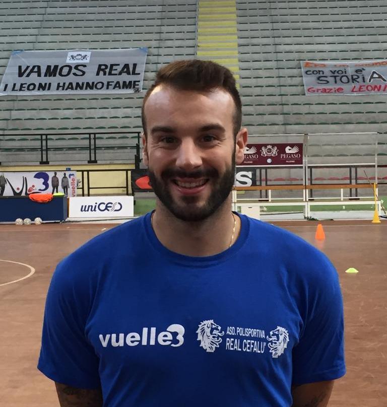 """Real Cefalù, parla Dario Lopez: """"Le difficoltà ci esaltano"""""""
