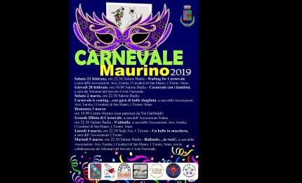 Carnevale a San Mauro, si parte già oggi