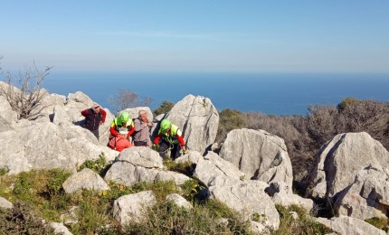 Soccorso Alpino e Polizia salvano un escursionista ferito