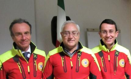 Soccorso Alpino, nuova presidenza per il corpo d'intervento