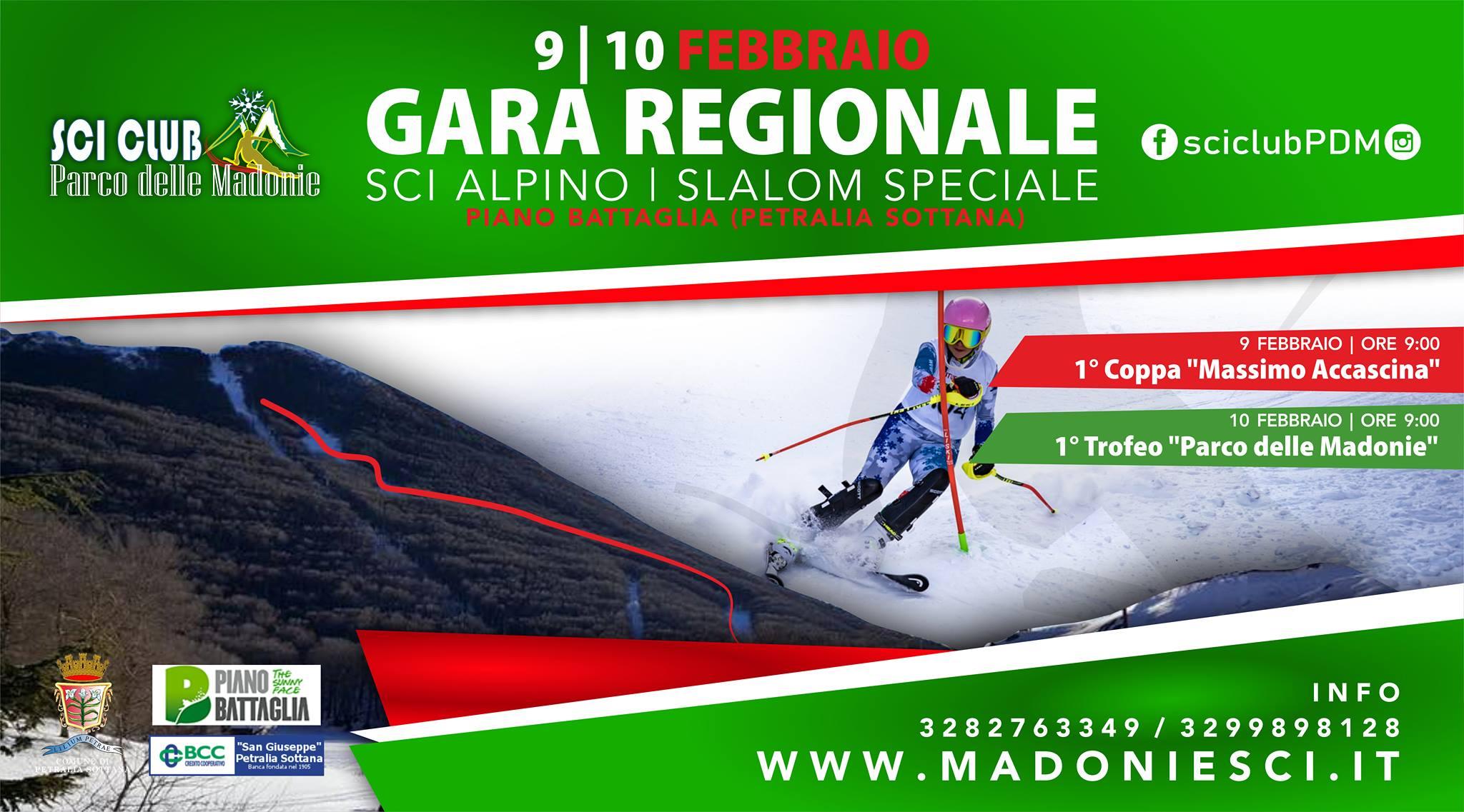 Slalom speciale a Piano Battaglia